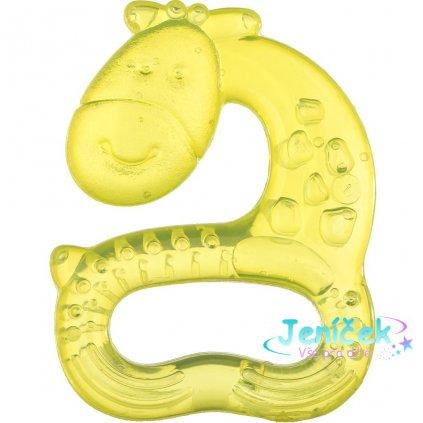Chladící kousátko Akuku žirafka žlutá V