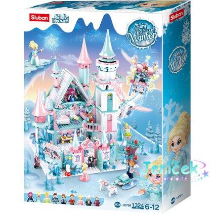 Sluban Girls Dream M38-B0789 Ledový hrad pro zimní víly V
