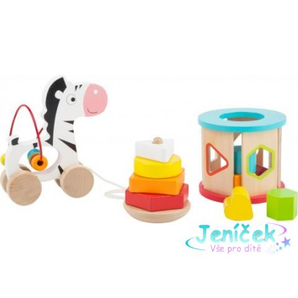 Small Foot Dřevěný motorický set hraček