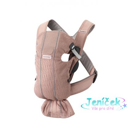 Babybjorn nosítko MINI Dusty pink 3D Mesh
