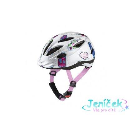 Alpina Sports GAMMA 2.0 bílá (51 - 56) - Cyklistická helma vyp