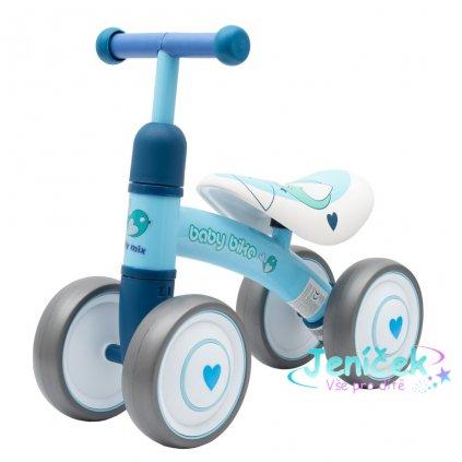 Dětské odrážedlo Baby Mix Baby Bike modré vyp
