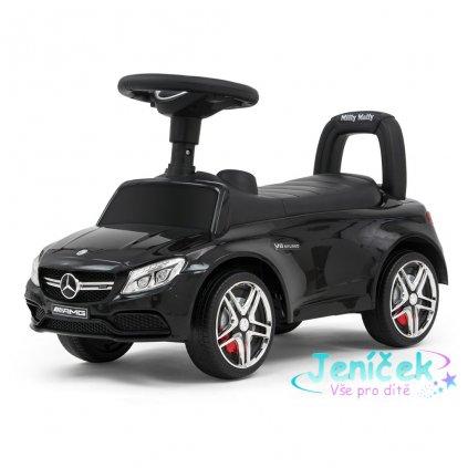 Odrážedlo Mercedes Benz AMG C63 Coupe Milly Mally black V