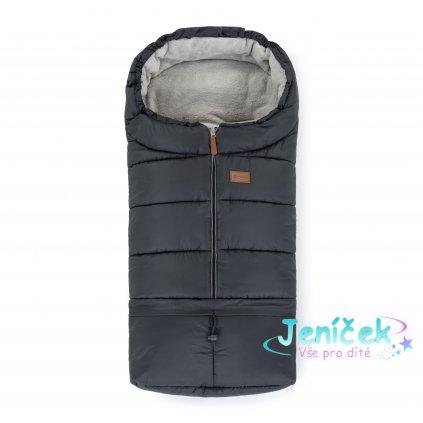 PETITE&MARS Fusak nastavitelný 3v1 Jibot Charcoal Grey