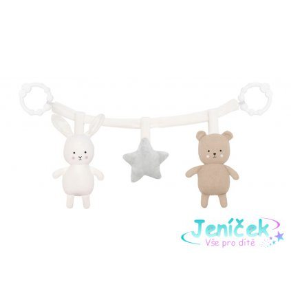 n0143 pram chain teddy bunny