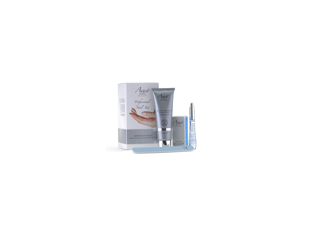 Aqua Mineral Nail kit midnight magic