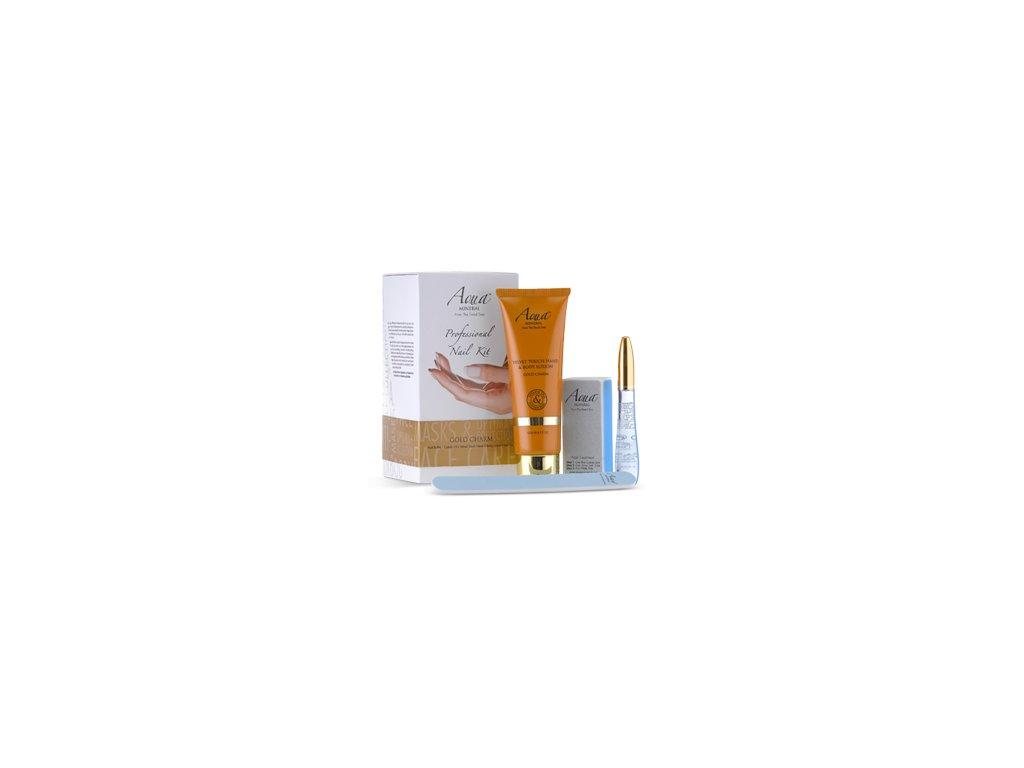 Aqua Mineral Nail kit Gold Chram