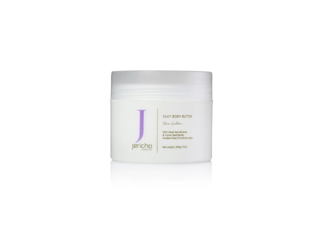 Jericho SILKY BODY BUTTER- pure lilac 200g