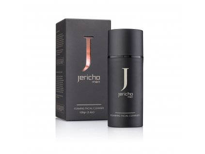Jericho Minerals Foaming Facial Cleanser for Men 100g
