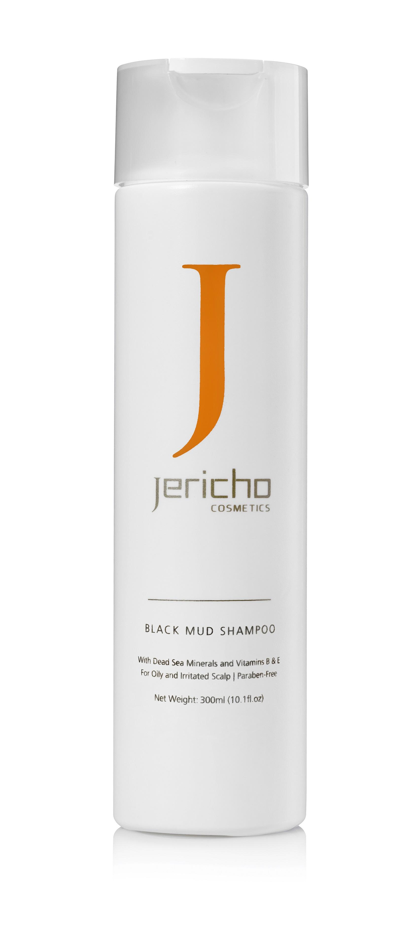 Levně Jericho BLACK MUD SHAMPOO 300ml