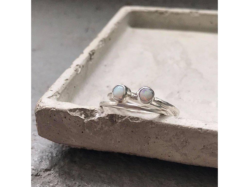 Opálové prstýnky 'ASO'