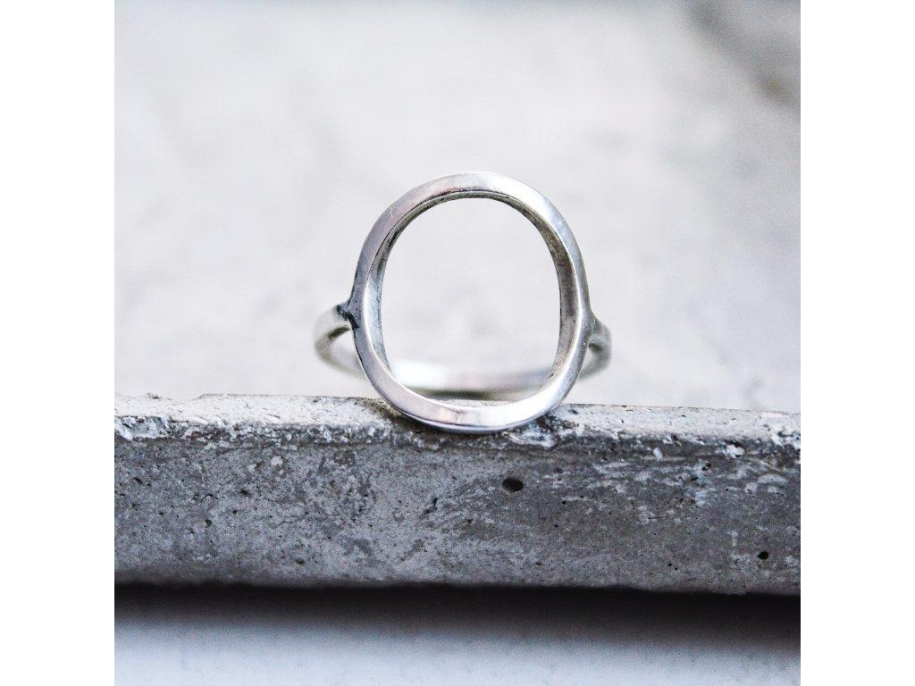 Fairmined stříbrný prstýnek
