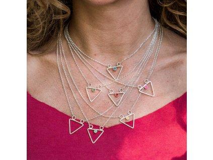 Geometrické náhrdelníky