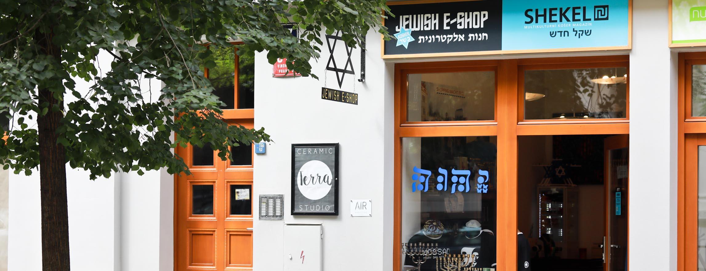 JEWISH E-SHOP - největší židovský obchod v ČR a SR