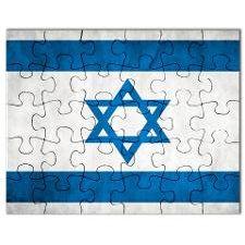 Puzzle - Izrael Vlajka