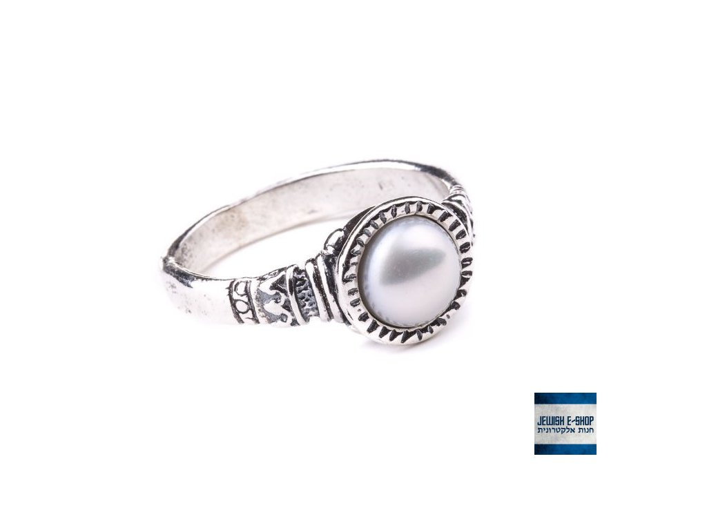 Prsteny s perlou