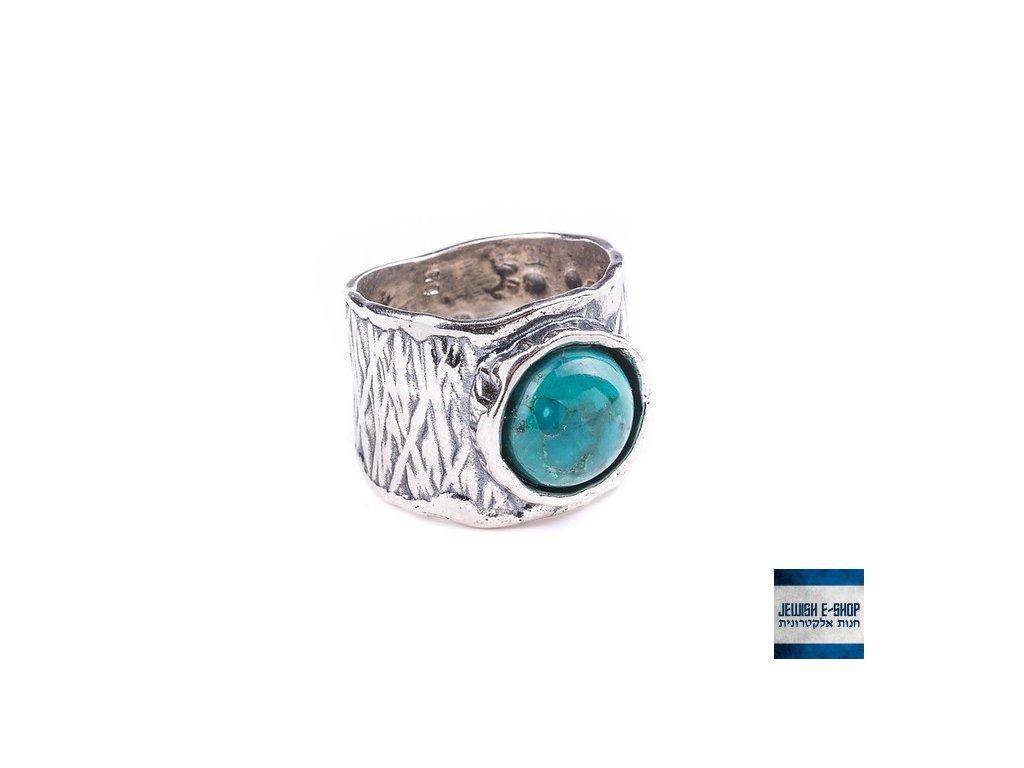 Prsteny s tyrkysy
