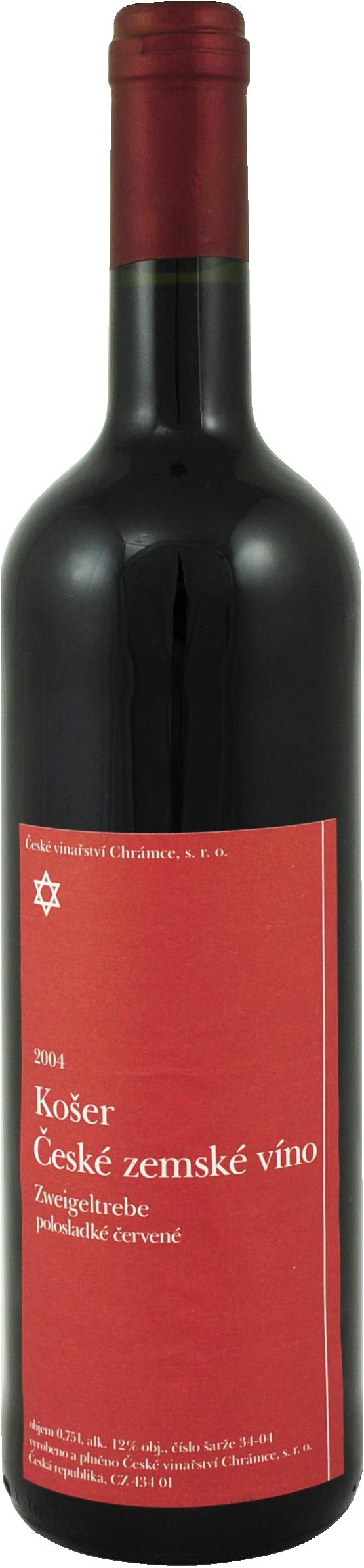 Červená vína Chrámce