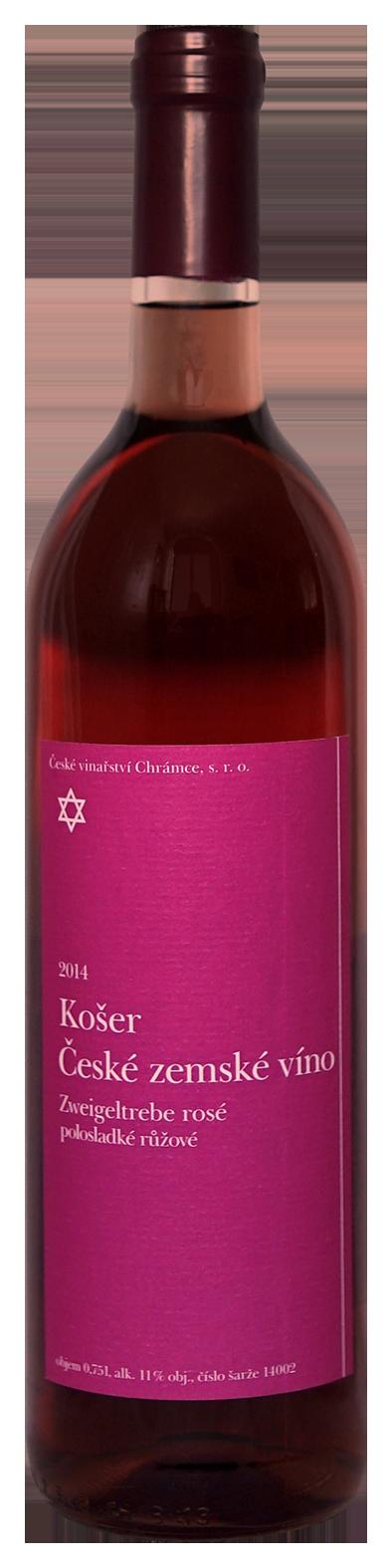 Růžová vína - Chrámce