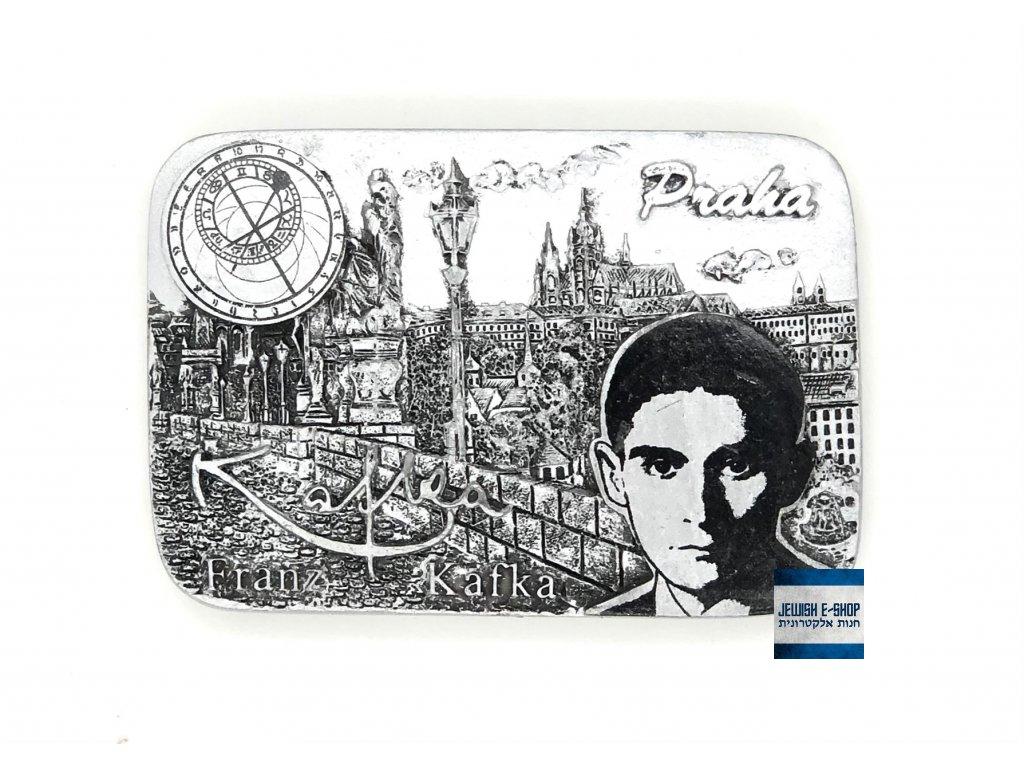 Magnet Franz Kafka - stříbrná