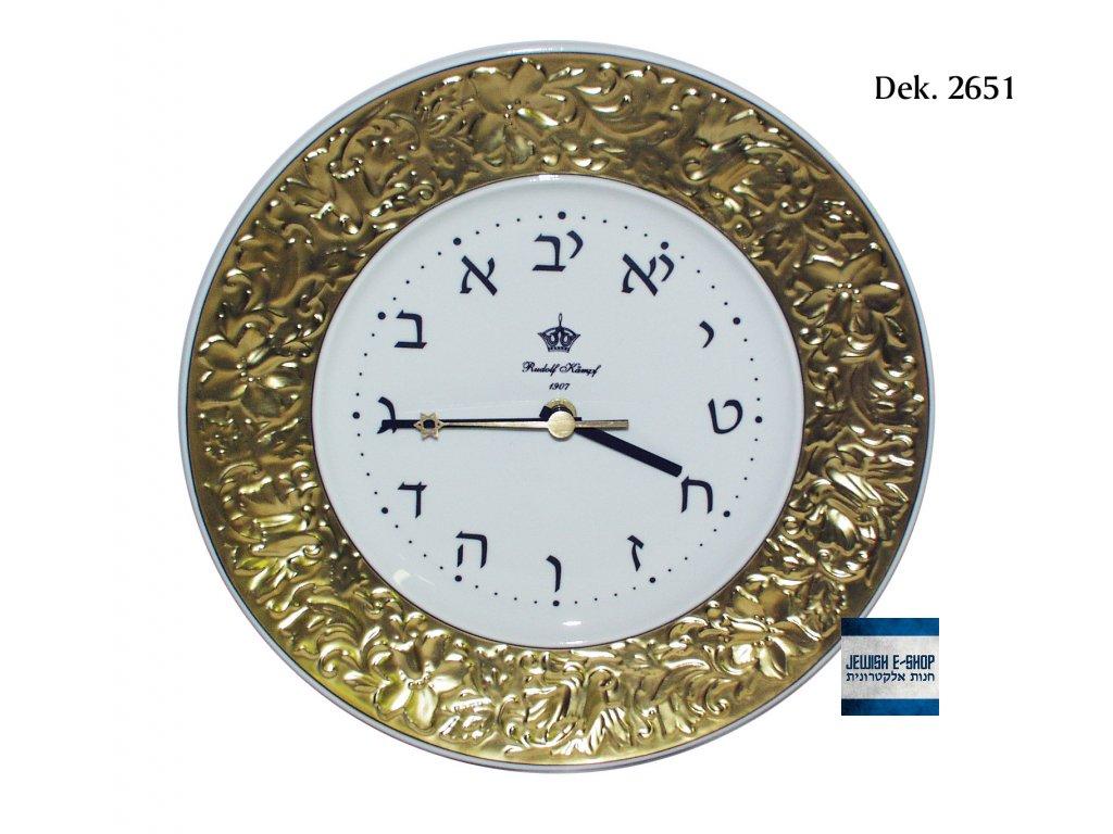 Hebrejské hodiny - ZLATÉ