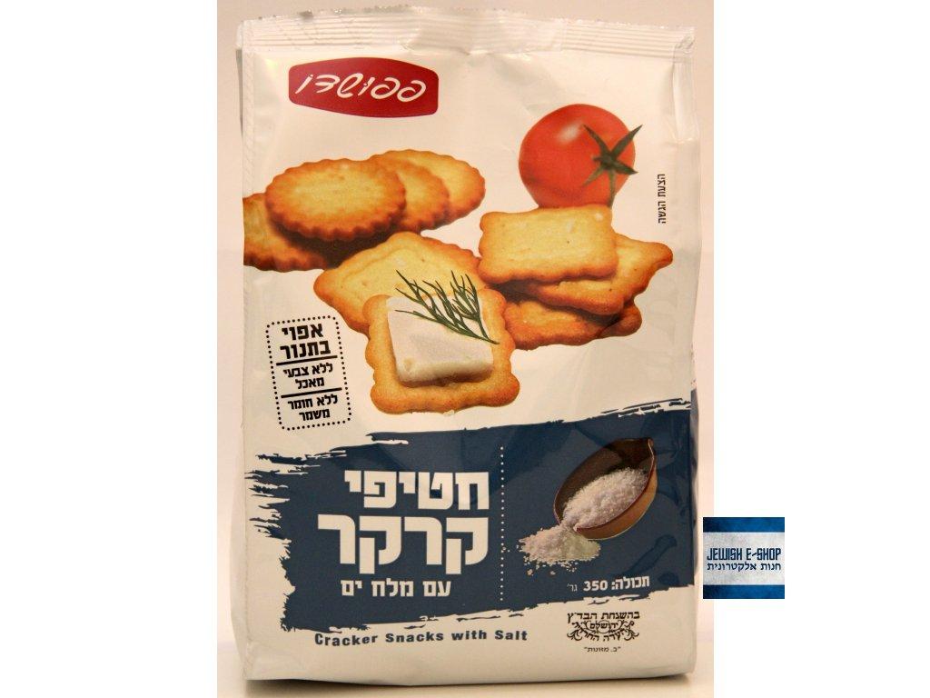 Košer solené krekry z Izraele - 100% kosher