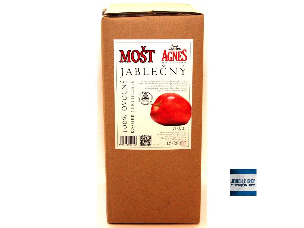 Kosher 100% jablečný mošt 2l