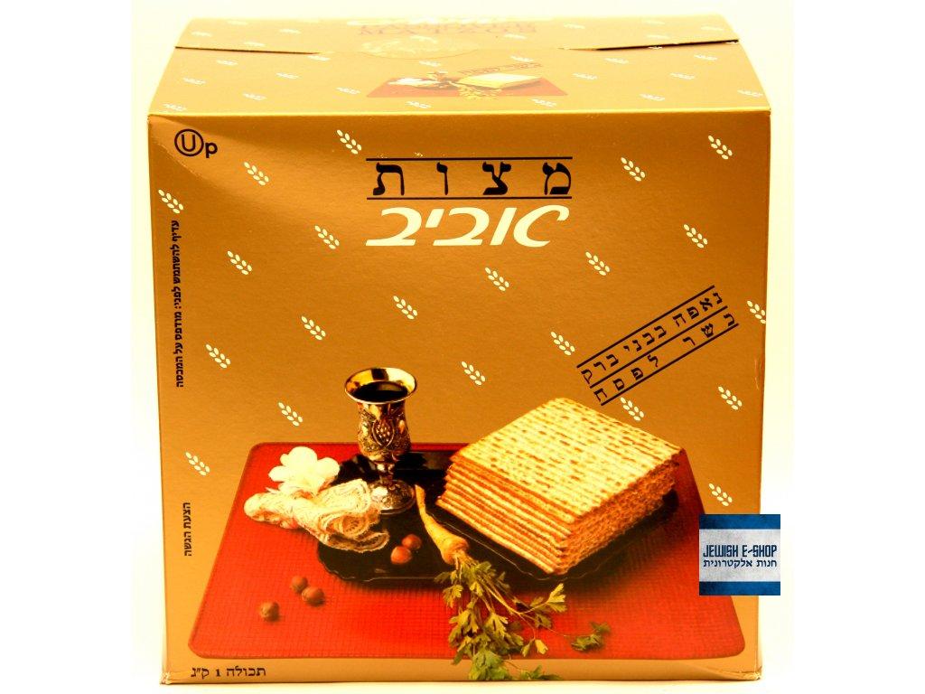Matzot maces Aviv Hagada 1kg- Macesy -->> Kosher for Passover