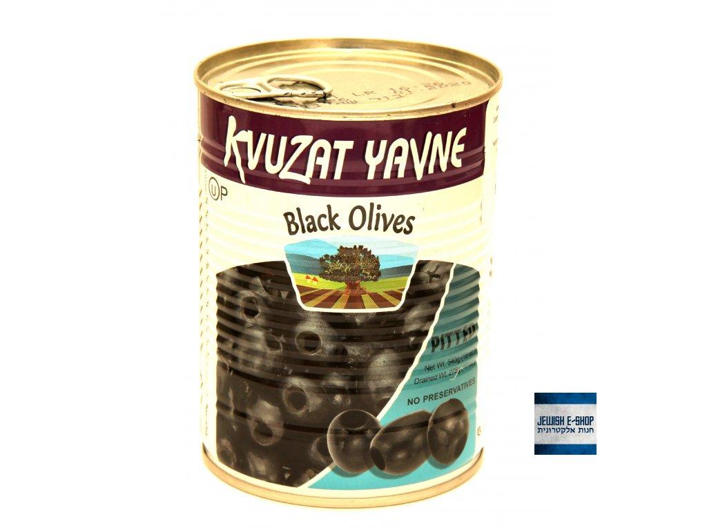 Kosher černé olivy z Izraele bez pecek, Made in Israel!
