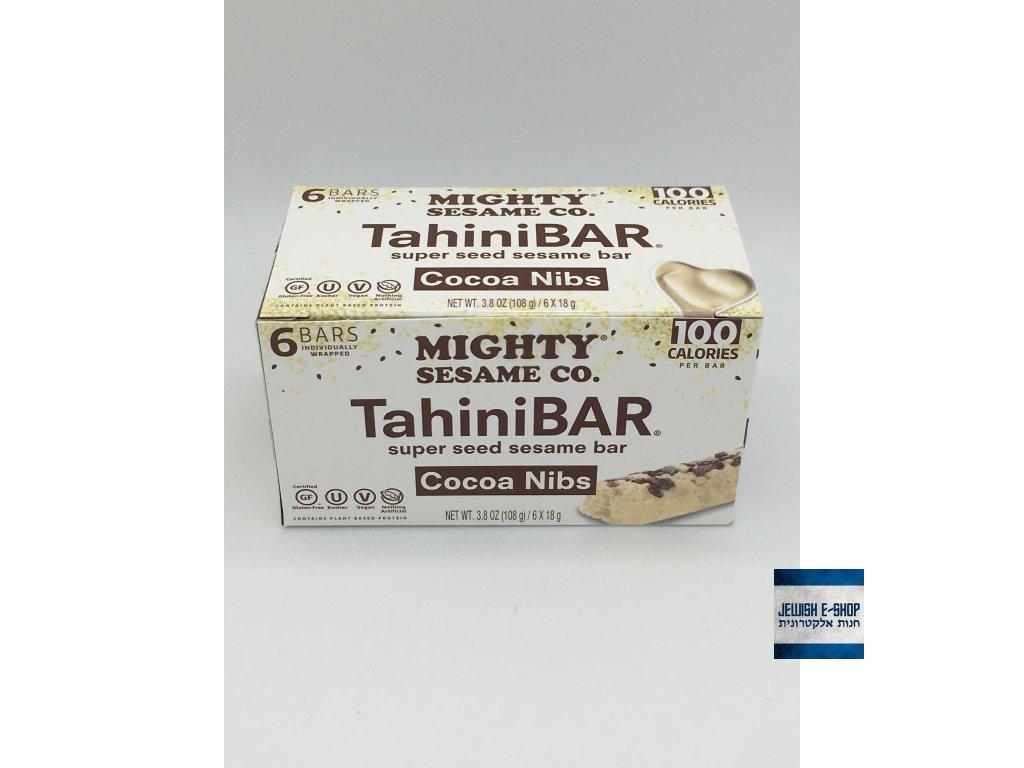 Halva tyčinky s kousky čokolády 6 ks á 18 g košer
