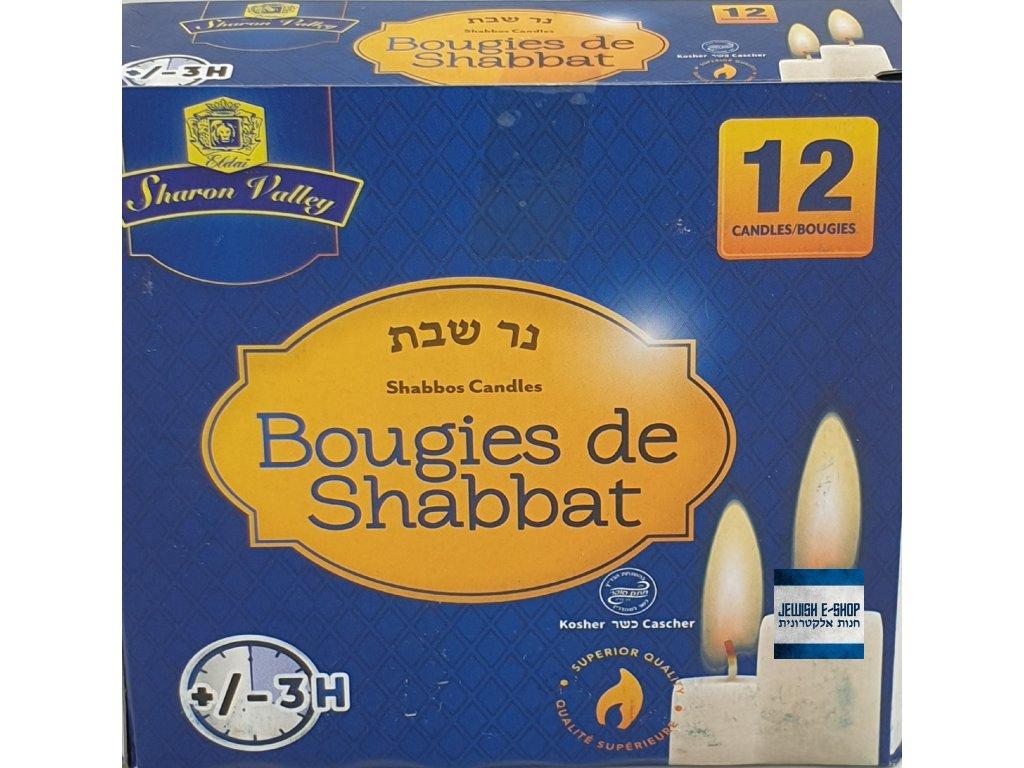svíčky šabat