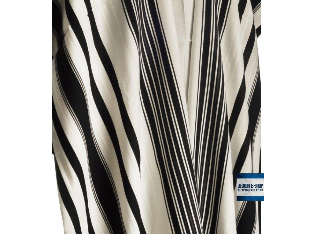 Kvalitní vlněný talit/talis 100% vlna - 140 x 180 cm