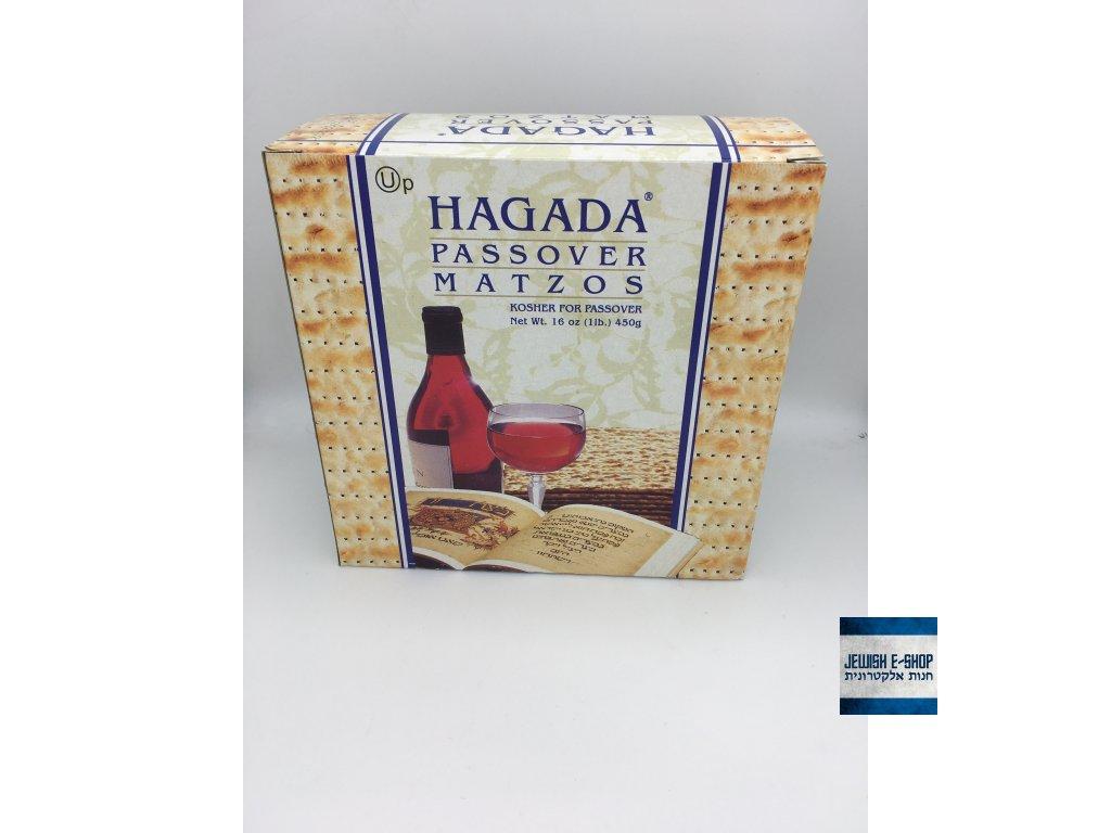 Macesy košer na Pesach - HAGADA - made and packed in Benei-Brak Izrael - 100% KOSHER
