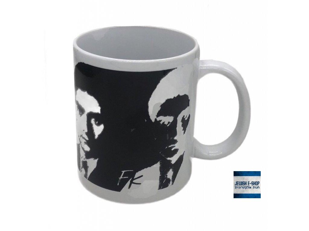 Bipolární hrnek - Franz Kafka - design JEWISHOP