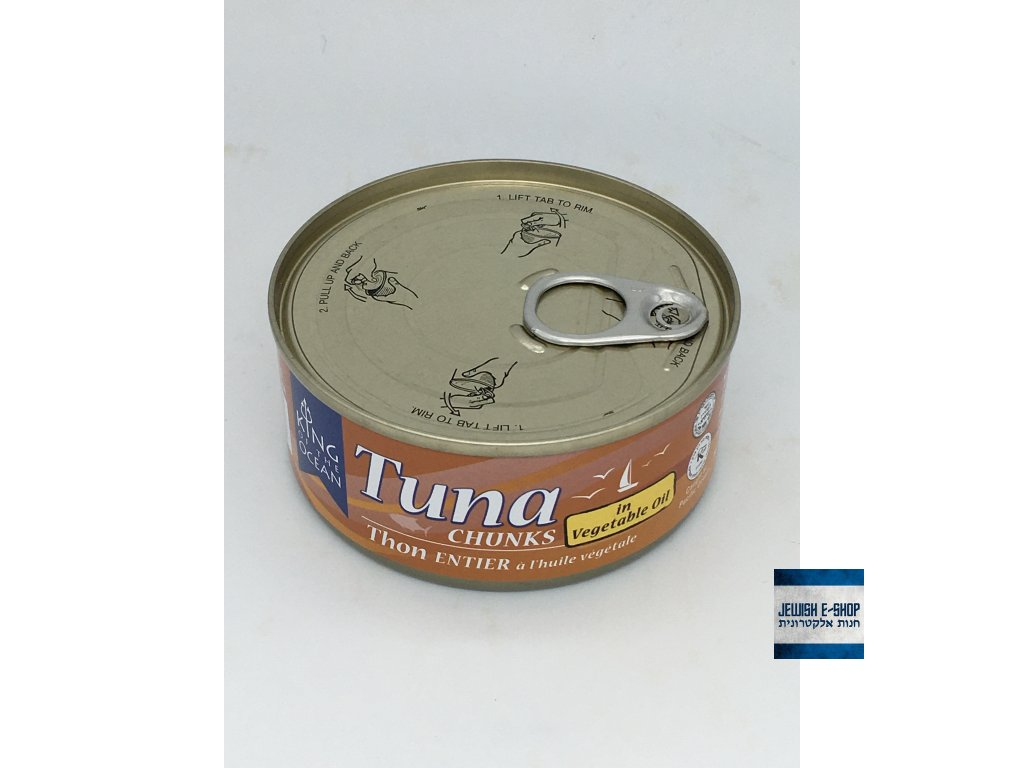 Elisha tuna in Vegetable oil  - tuňák v rostlinném oleji 142g Kosher for Passover