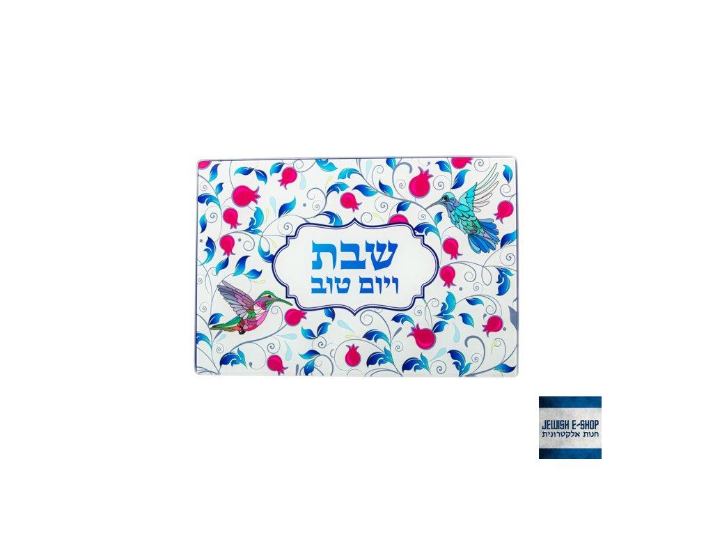 Krásný podnos na chalu z Izraele