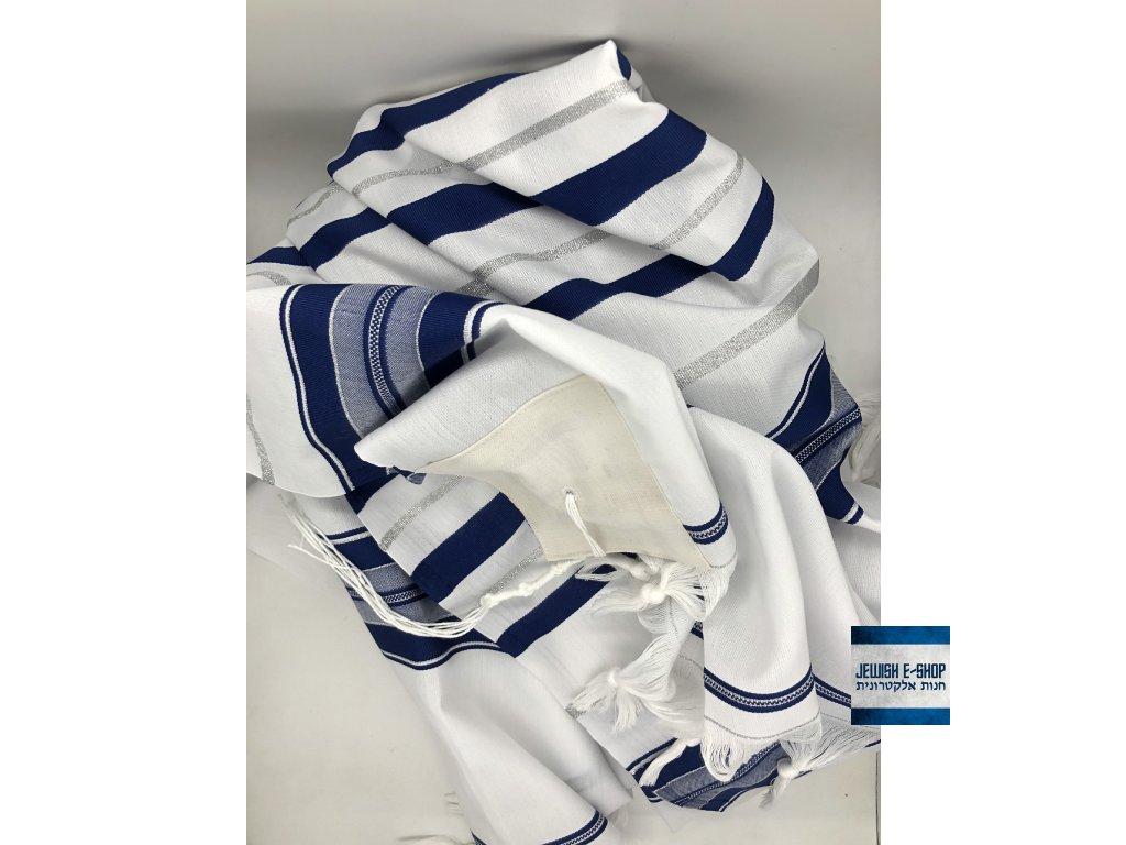 Tallit - talis - talit - židovský modlitební plášť -  100% polyester  AKCE!