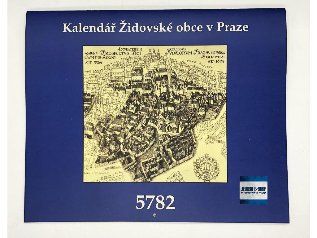 Židovský kalendář ŽOP - 5782