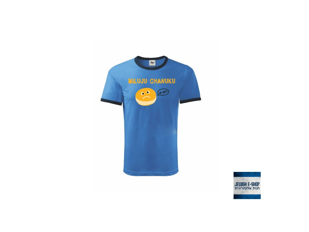 Tričko - Miluju Chanuku - BLUE