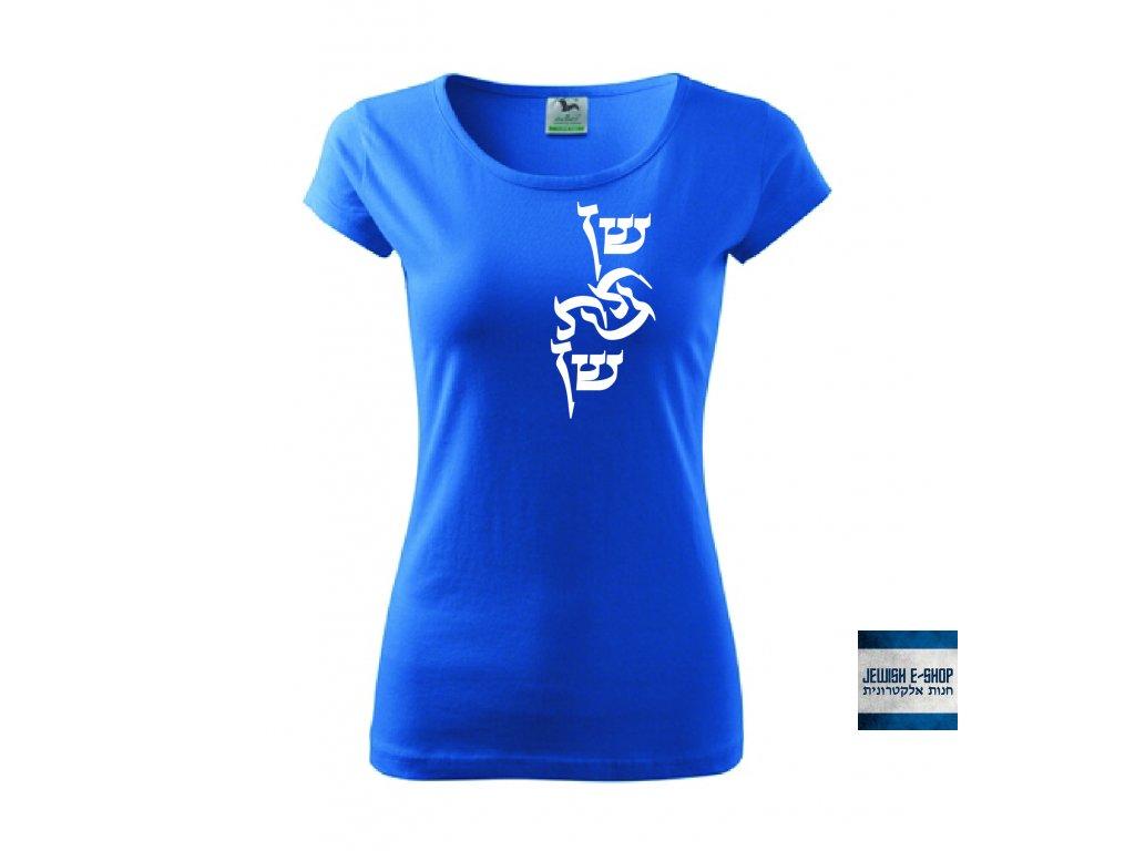 Tričko dámské - Shen modré