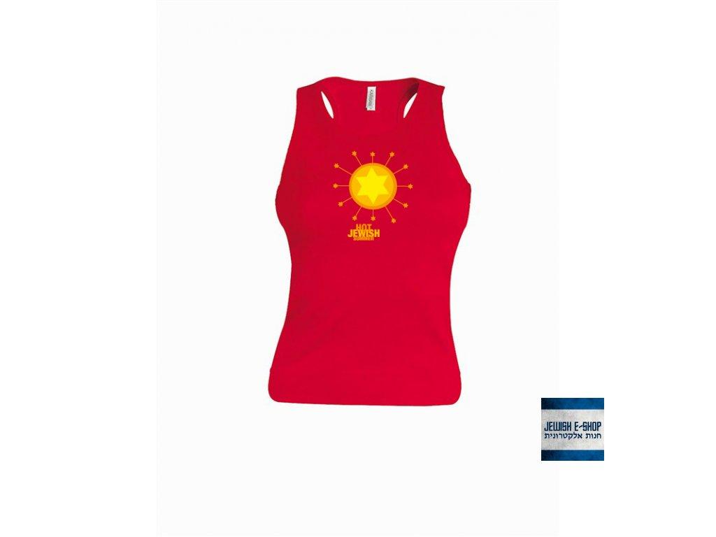 Tričko - HOT - RED