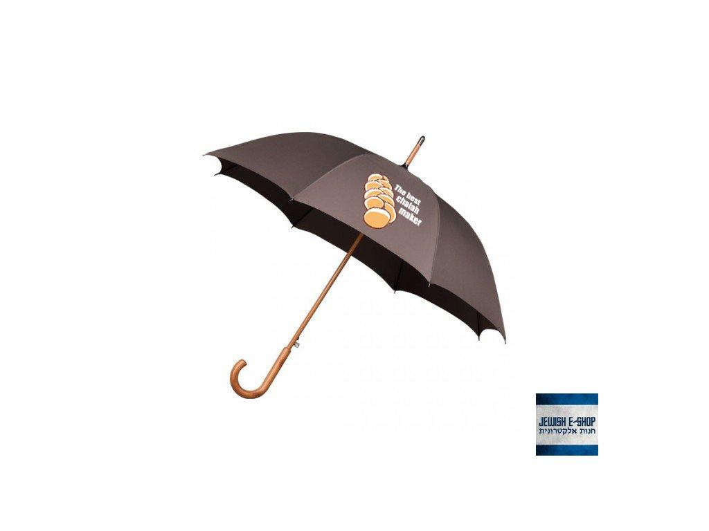 Deštník - Chalah - hnědý