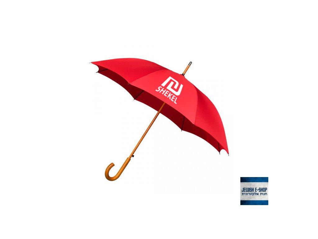 Deštník - SHEKEL - červený