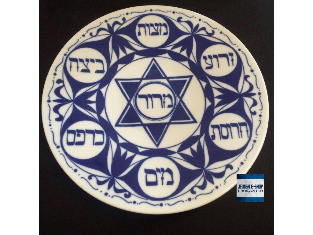 Sederový talíř porcelánový - MALÝ