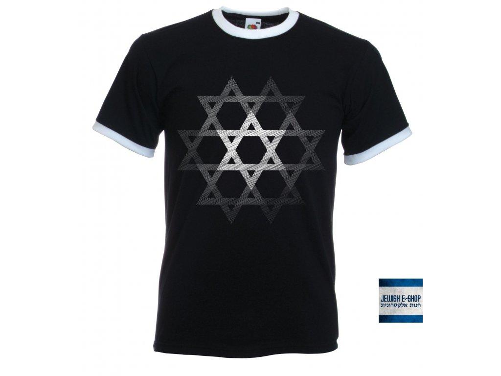 Tričko - Davidovo souhvězdí