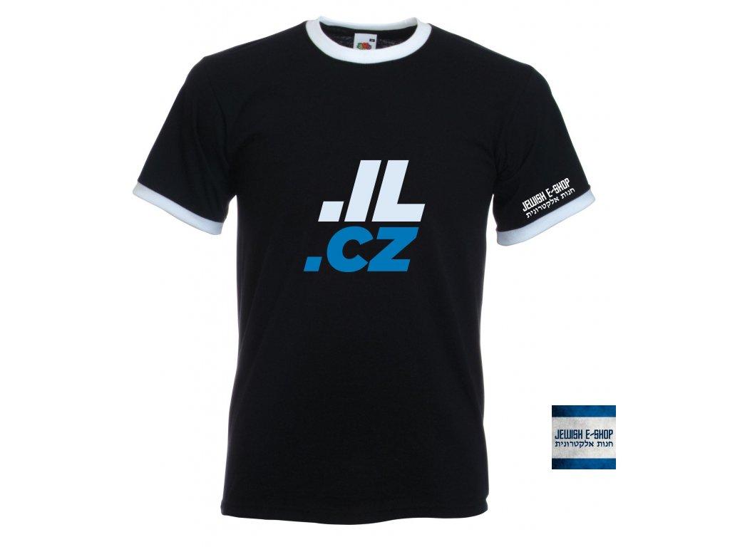 Tričko - IL - CZ - černá
