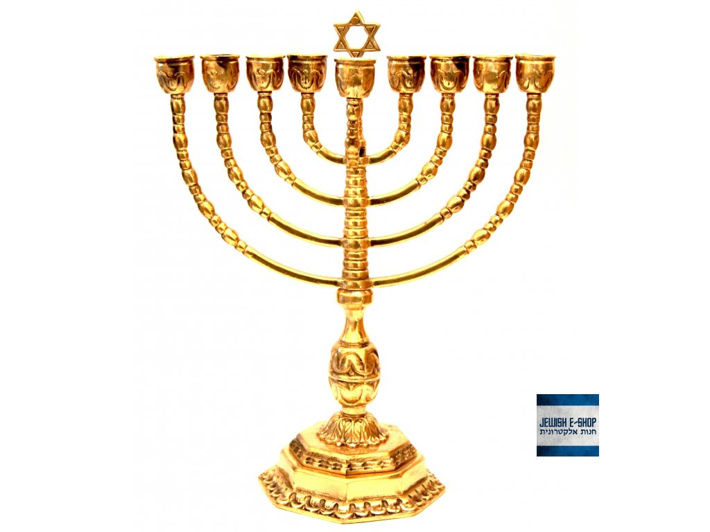 židovský svícen chanukije