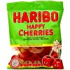Kosher Haribo Happy Cherries - třešňové bonbóny 150g