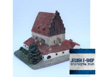 Model Staronova synagoga predni strana