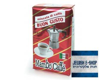 Kosher Coffee - MAMBOCAFFÉ BUON GUSTO – mletá káva 250g